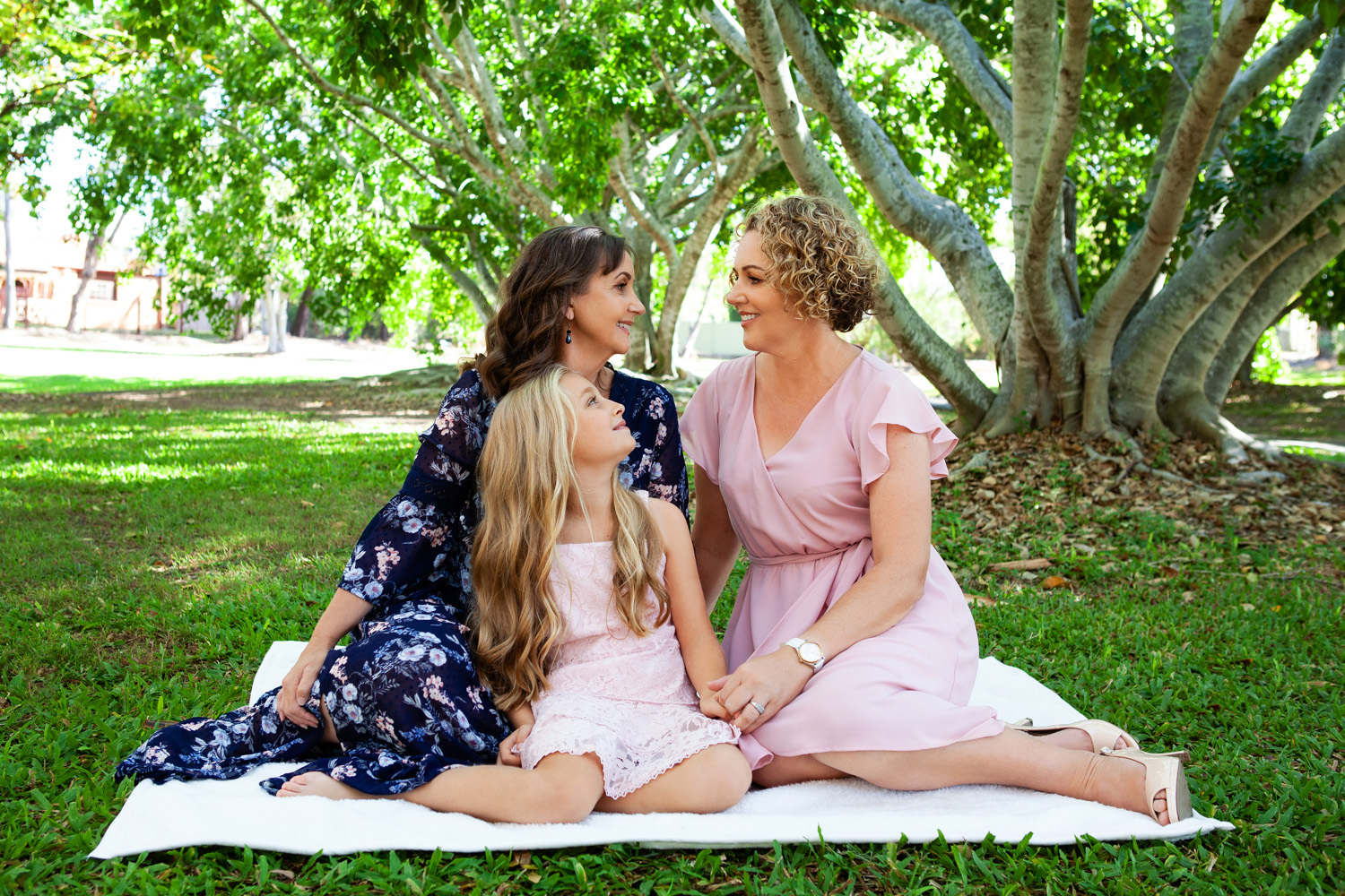 family looking at each other, @lananoir, gold coast family portrait photographer, gold coast family portrait photography, robina photographer, broadbeach photographer, gold coast photographer, gold coast best photographer, gold coast best family photographer, gold coast family photographer, gold coast family photography, same sex family, same sex family photography